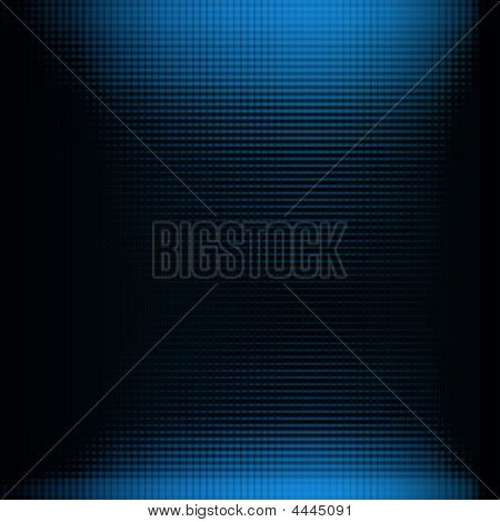 Doted Blue Background
