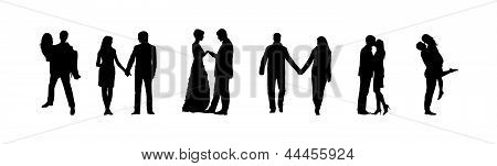 Romance And Love Silhouettes