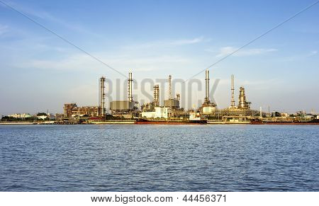 Coastal Oil Refineries.