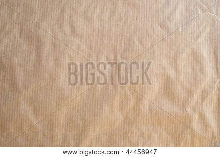 Striped Brown Paper