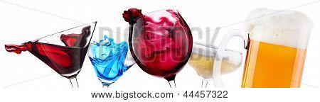 Alcoholic Cocktail Set  Splash