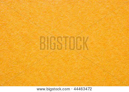 Foto de papel de lija - amarillo (textura)