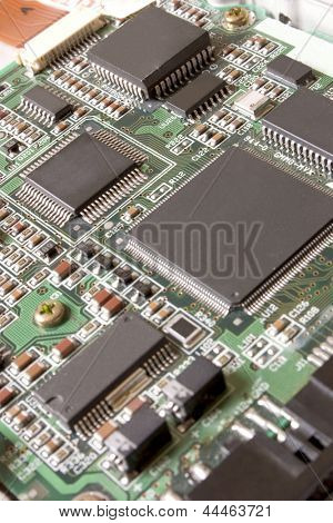 Photo of Electronic Board