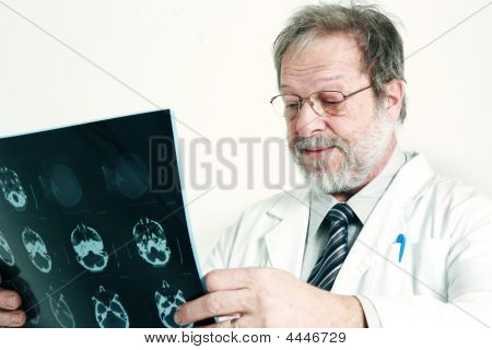 Doctor And Radiography