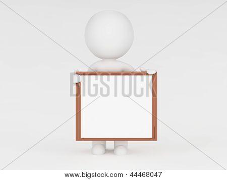 3d - empty board