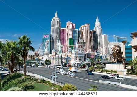 New York-new York On The Las Vegas Strip In Nevada