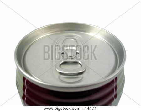Soda Can Close Up