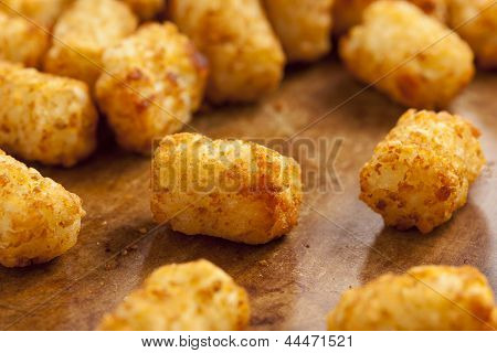 Organic Fried Tater Tots