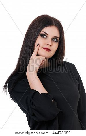 Confused witch