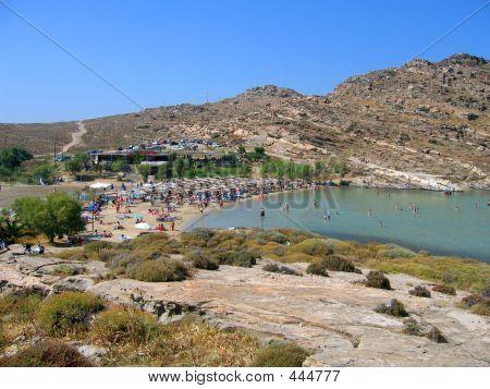 Monastiri Beach, Paros