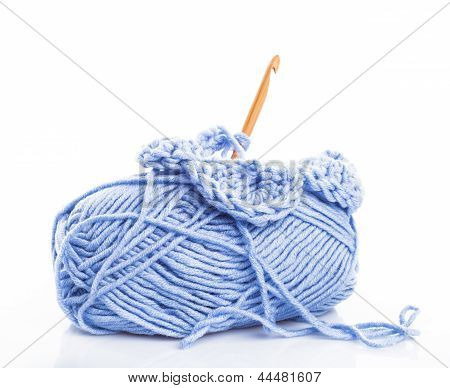 Crocheting Isolated