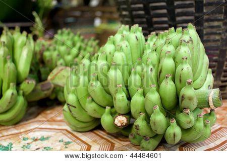 Green Fresh Banana