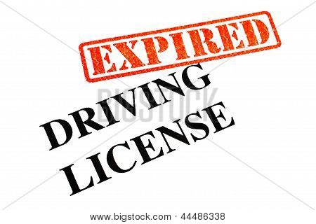 Driving License Expired