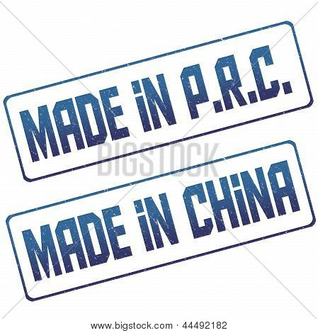 Stamp Made In China