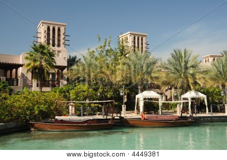 Traditional Abras In Madinat Jumeirah Resort, Dubai