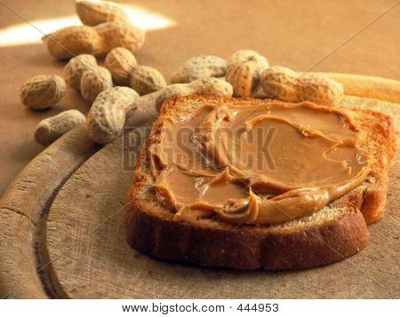 Sándwich de manteca de cacahuete
