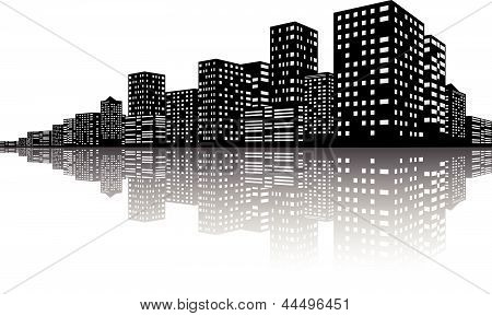 City Skyline Night scenes