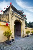 Gate To Imperial Citadel Thang Long In Hanoi