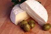 Camembert Cheese And Olives
