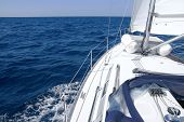 picture of nautical equipment  - Sail boat - JPG