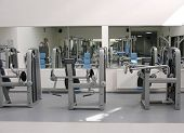 pic of sweatshop  - gym - JPG