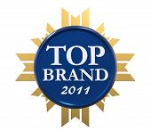 Top Brand Award of Year 2011 poster