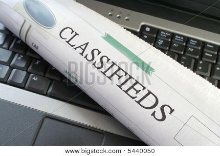 Laptop de negócios classificados