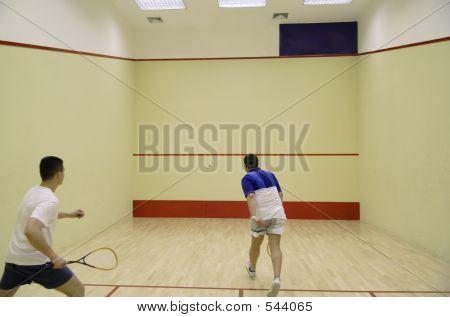 Jugar squash