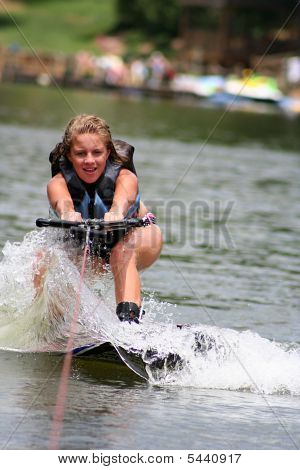 Wakeboarding Girl