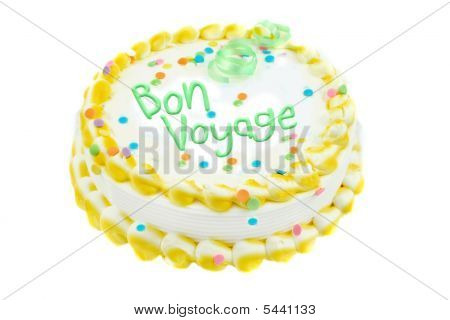 Bon Voyage Festive Cake