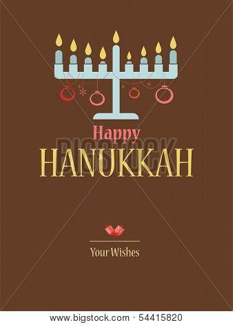 happy hanukkah; jewish holiday