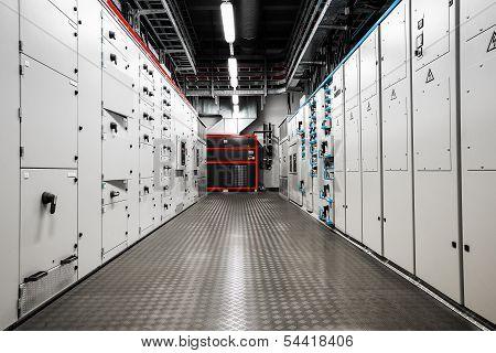 Electric amperage control room
