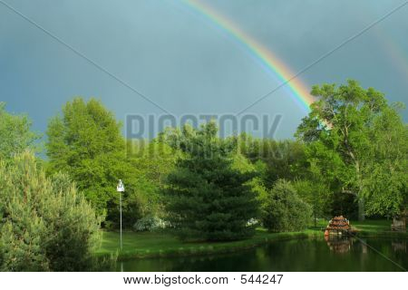 Regenbogen, Flasche Creek
