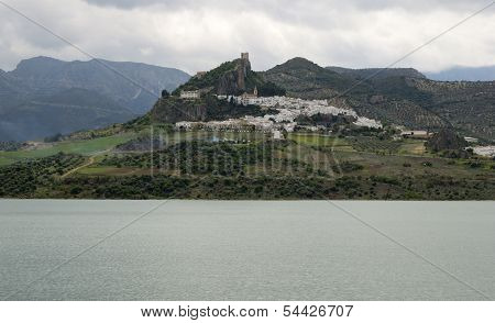 Andalusian Village On The Mountains