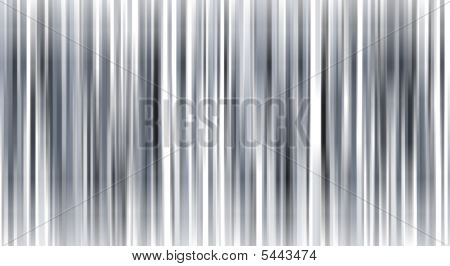 Grayscale Stripe Pattern On White For Backgrounds