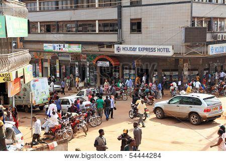 Kampala Street Corner