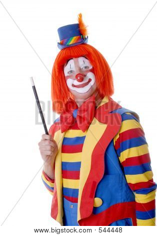 Guy Clown mit Stab