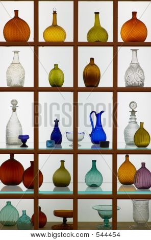 Bottles In Many Shapes