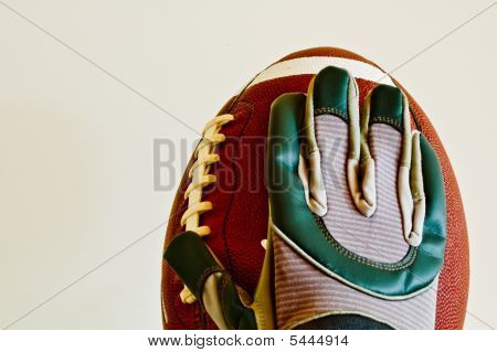 Football And Glove