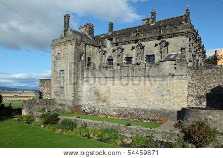 Stirling Castle In Stirling, Scotand.