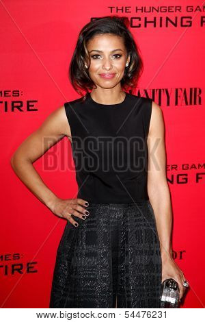 NEW YORK-NOV 20; Actress Meta Golding attends