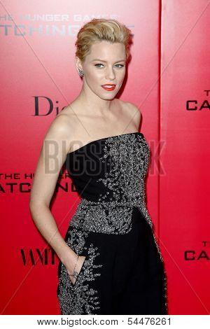 NEW YORK-NOV 20; Actress Elizabeth Banks attends