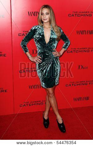 NEW YORK-NOV 20; Model Hannah Davis attends