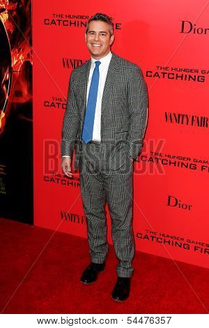 NEW YORK-NOV 20; TV host Andy Cohen attends