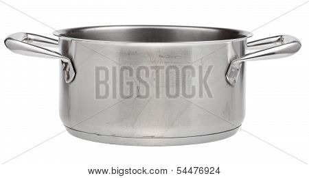 Open Small Stainless Steel Pan