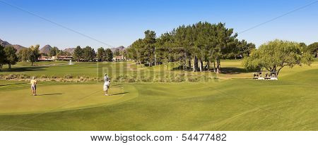 A Stonecreek Golf Club Shot, Phoenix, Arizona