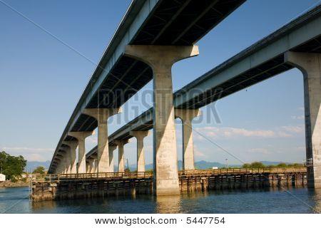 Bridge At Anacortes Island, Washington
