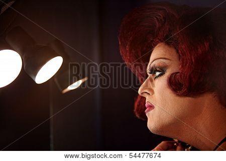 Drag Queen In Lights