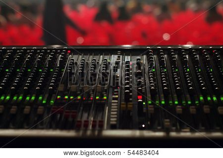 Sound Mixer of the Big Concert