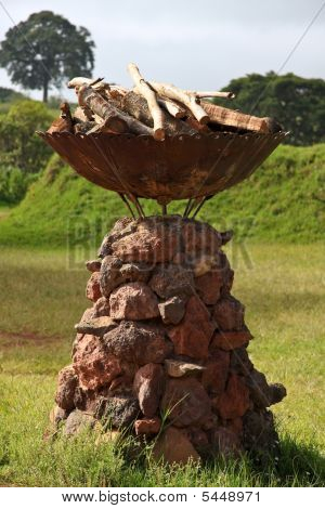 Decorative Fire Pit In Tanzania